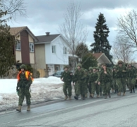 Training ruck march